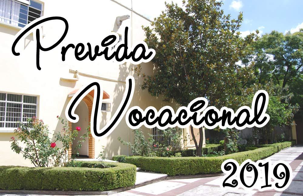 Previda Vocacional 2019