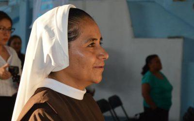 1ra Profesión de Hna. María López