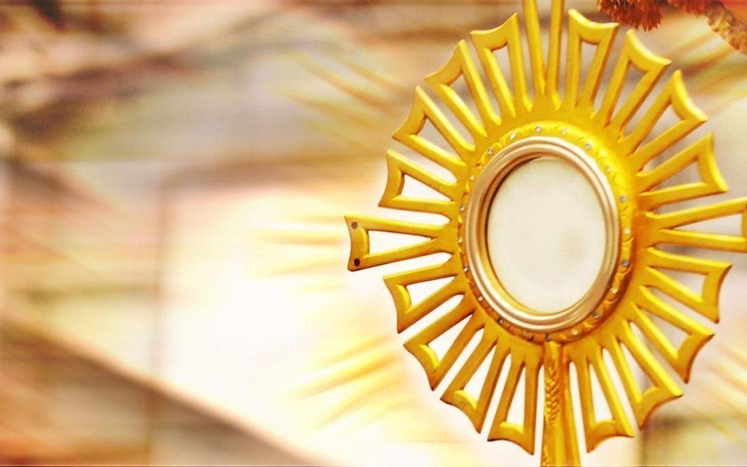 Celebración del Cuerpo y la Sangre de Cristo (Corpus Christi)